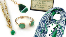 Adding a little GLAM to your St. Paddy's Outfit!
