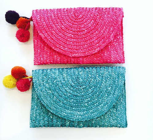 Carmencita Clutch - Only 1 PINK LEFT!