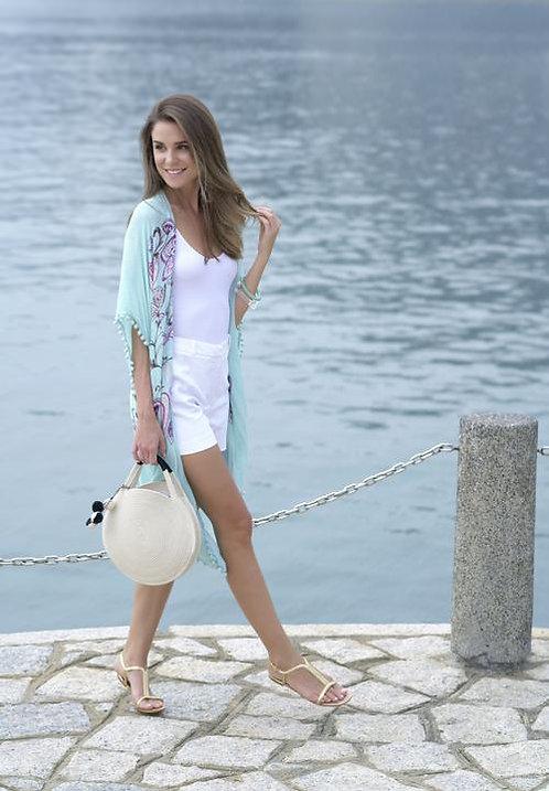 Sea Green Kimono