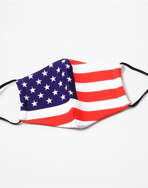 FLAG Face Mask(Adjustable)