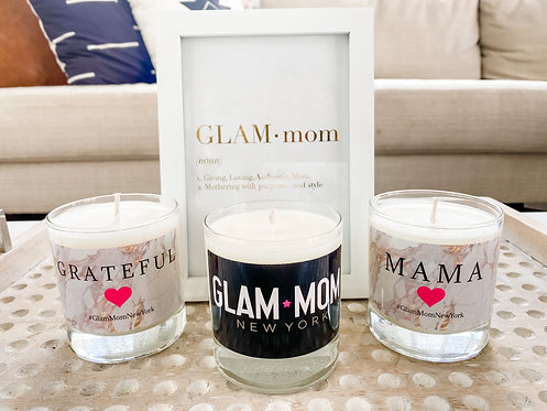 Glam Scented Candle - 3 Sayings