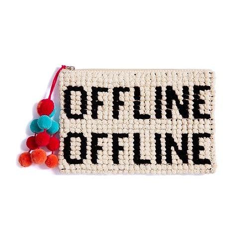 """Offline"" Summer Clutch"