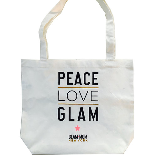 Glam Canvas Tote