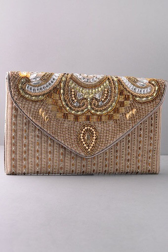 Hand-made Indian Glam Clutch