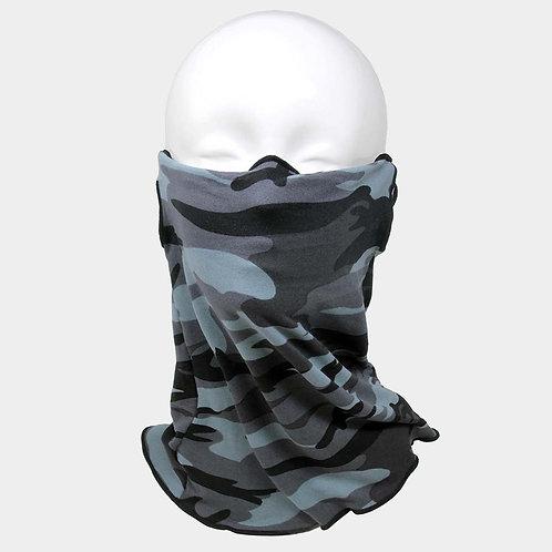 Camo Tie-Dye Face Scarf