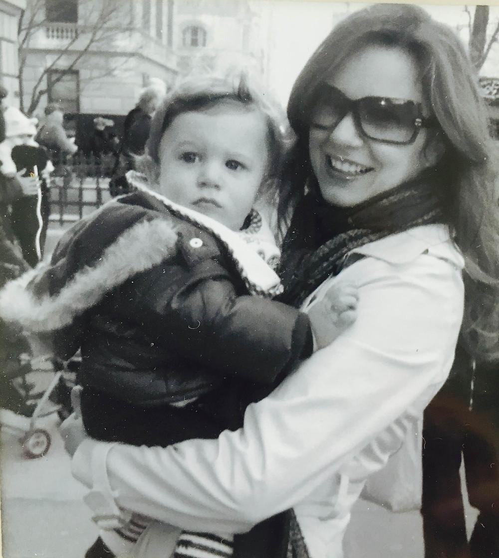 Jennifer DeLuca, Glam Mom New York & Son