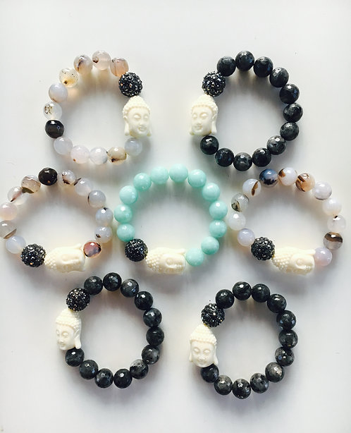 Signature Budda Bracelets - BLACK ONLY