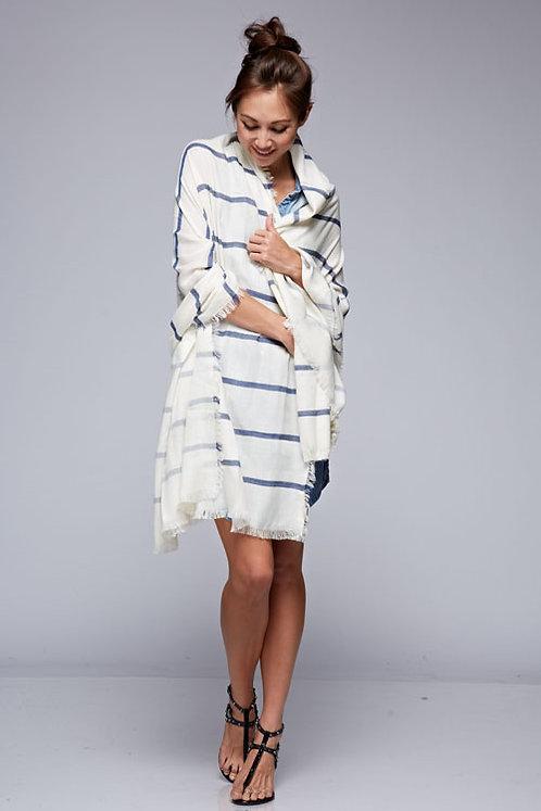 Summer Striped Wrap - Wear 3 Ways