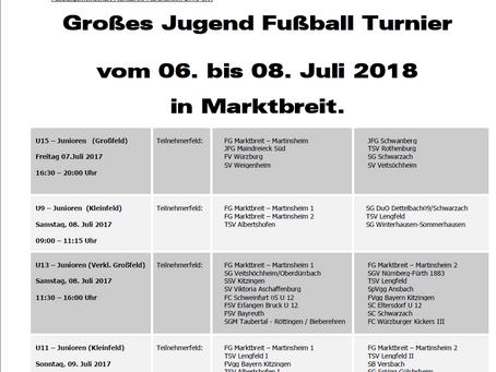 FGM Jugend Fußballturnier 2018
