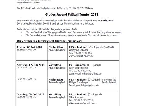 FGM Jugendturnier 2018