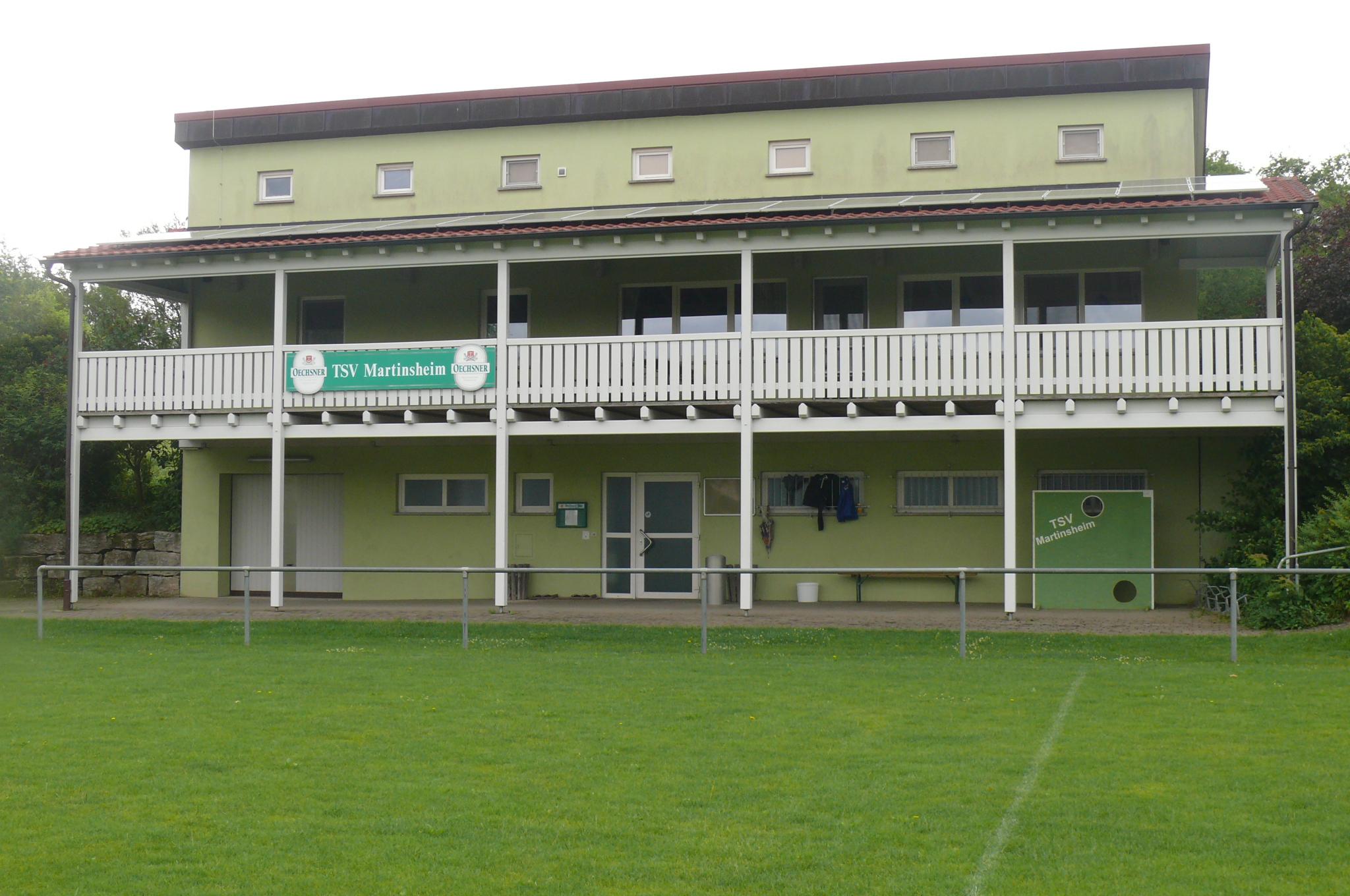 Sportheim TSV Martinsheim