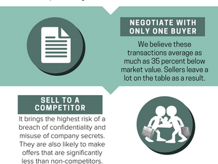Infographic: 4 Things To NOT Do When Selling Your Company