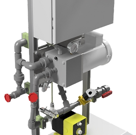 PDS Inline Polymer unit With Stand LMI pump and Mix chamber