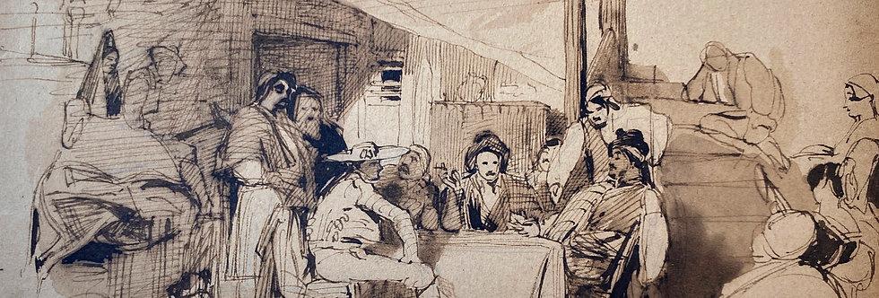 JOHN FREDERICK LEWIS, R.A. (1804-1876)