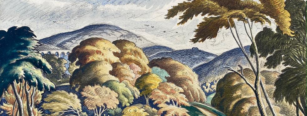 ETHELBERT WHITE, R.W.S., L.G., N.E.A.C. (1891-1972)