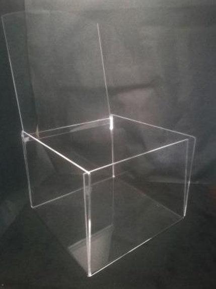 Caixa de acrílico para preservar alimentos