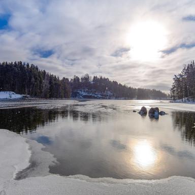 Talvinen Kymijoki
