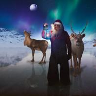 Merry Elf in Galaxy far far away