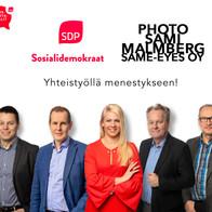 SDP vaalimainos