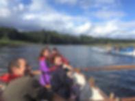 Tweed Row, Newhaven Coastal Rowing Club.