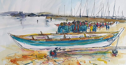 Burghead Coastal Rowing Club at Skiffiew