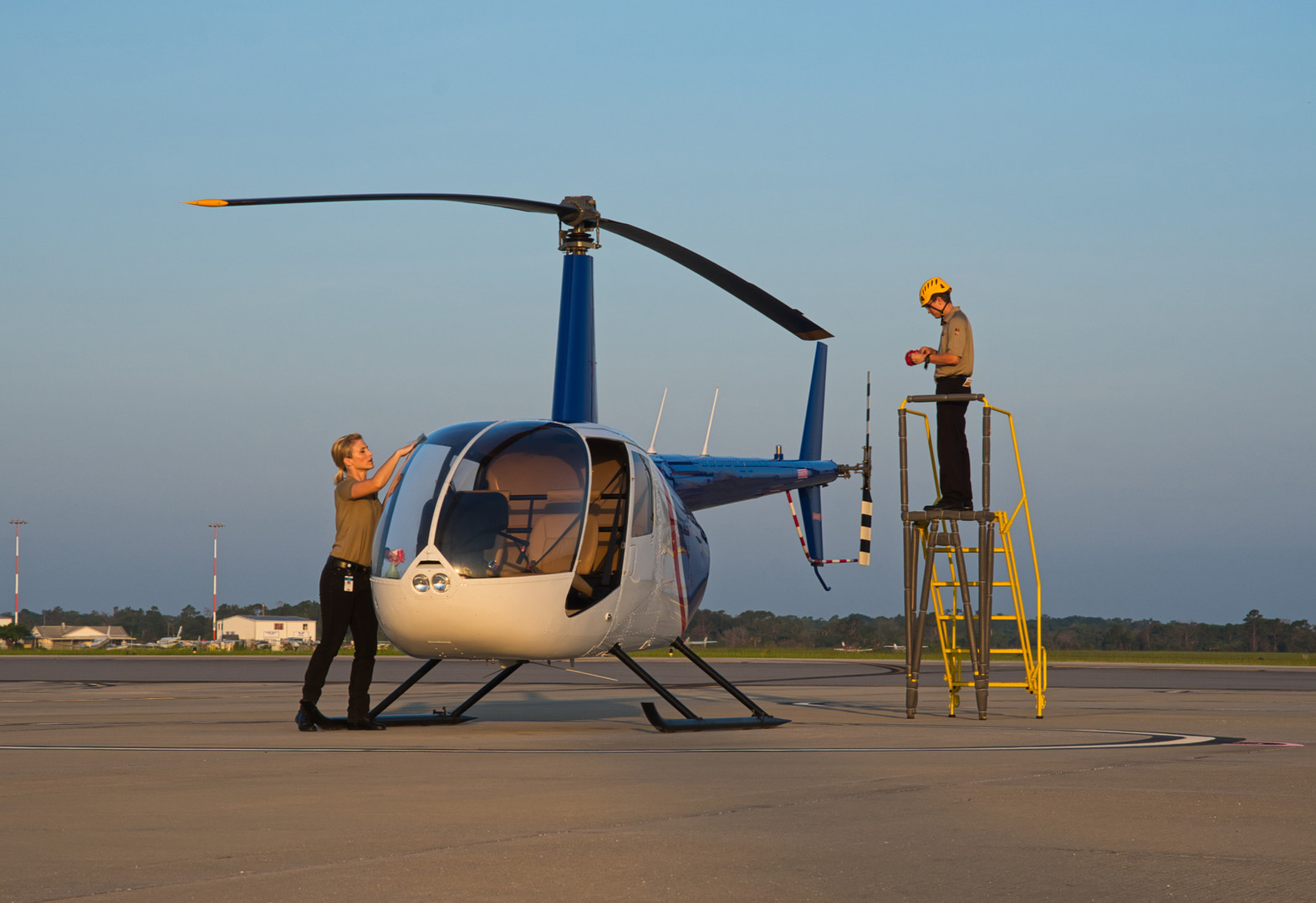 Helicopter Preparation with USATS