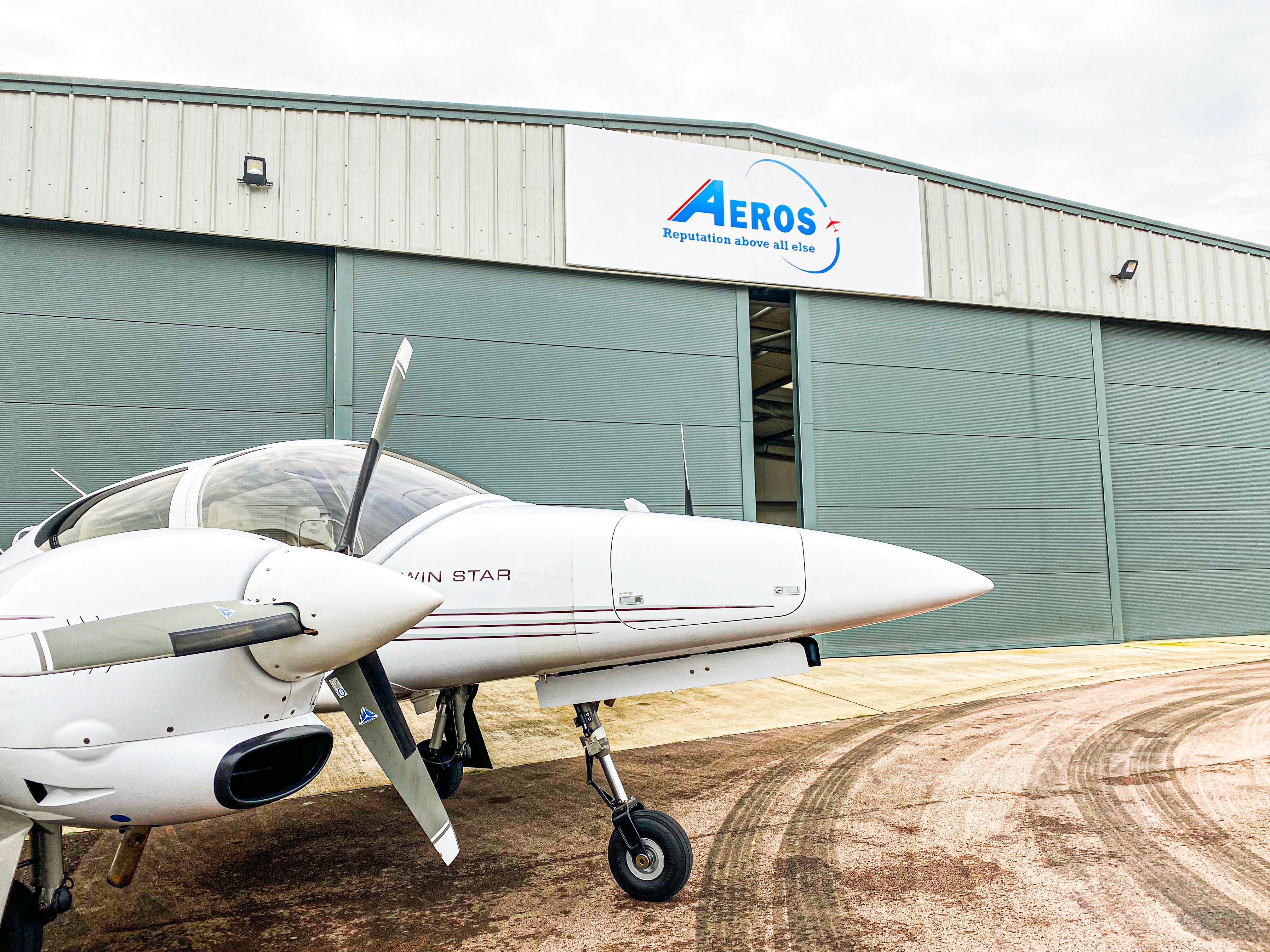 two hour flight experience aeros
