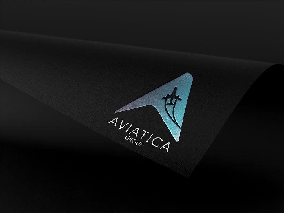 Aviatica Group branding by Colossal