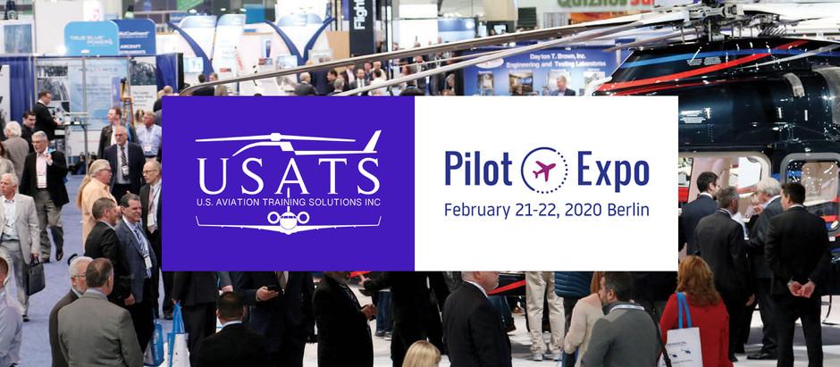USATS & GAA Exhibiting at Pilot Expo 2020 in Berlin