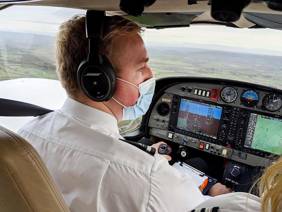 Flying a Wellesbourne Academy