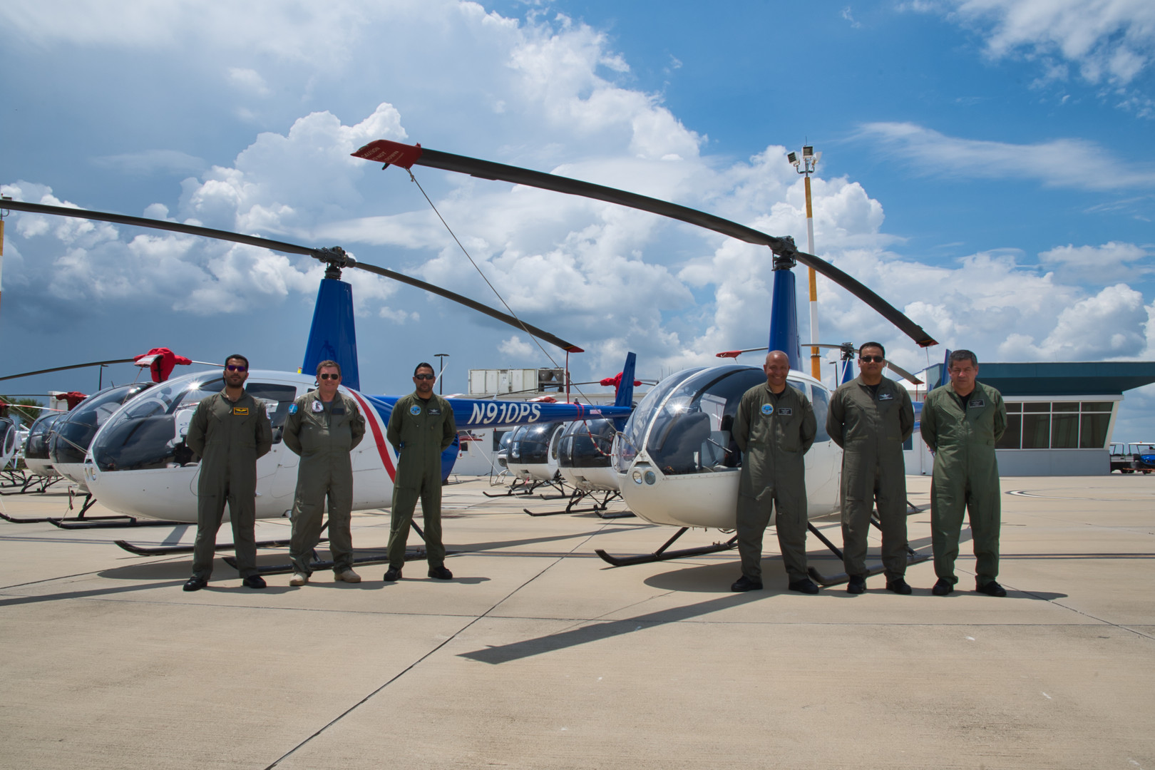 Helicopter Pilots at USATS
