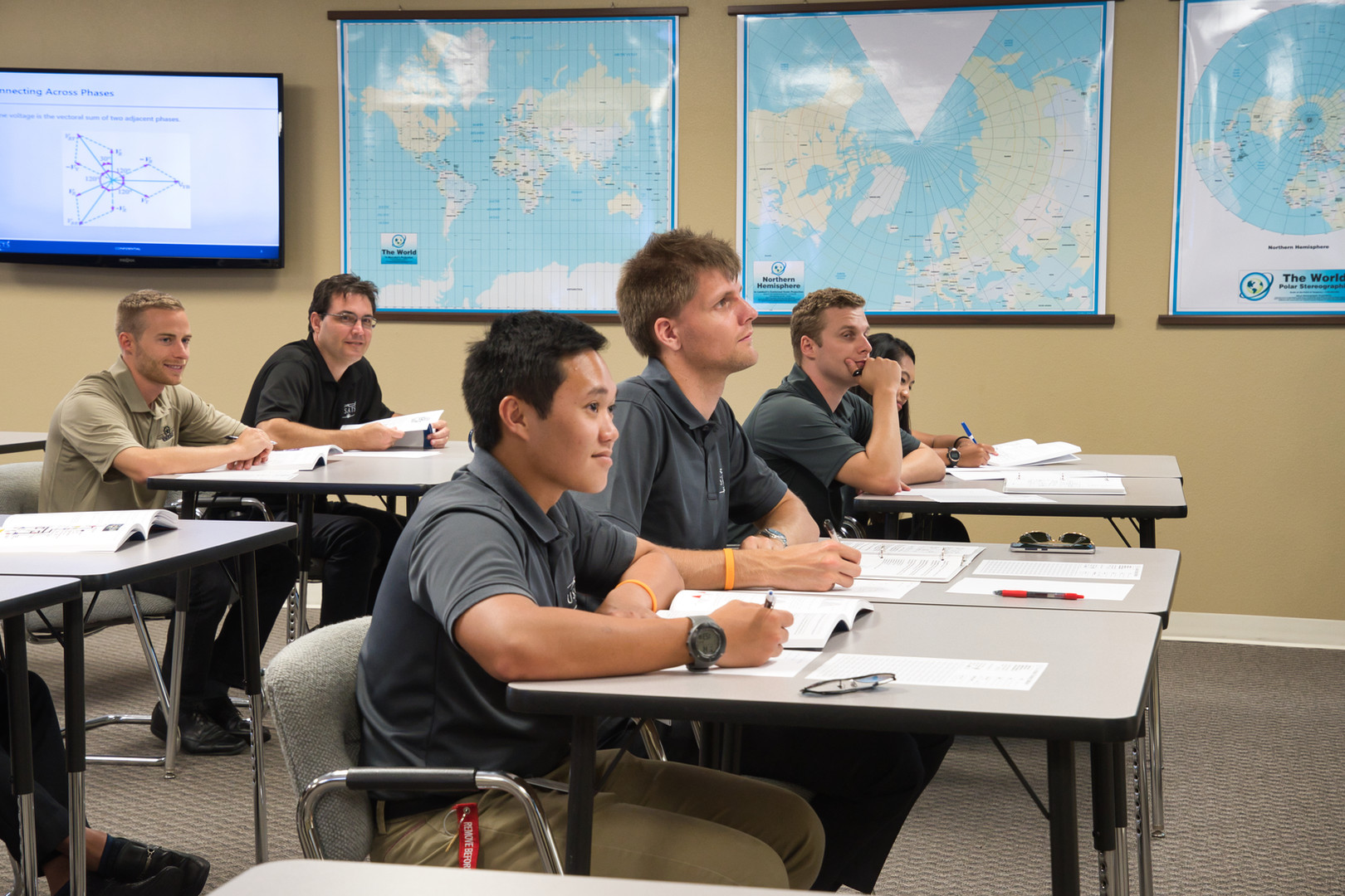 Students Training to be Pilots