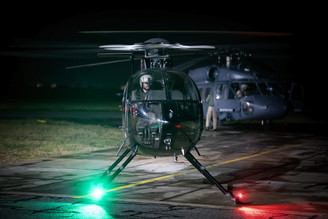 Night Flying in Helicopters