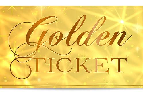 A Celtic Christmas - 17th December, Golden Ticket