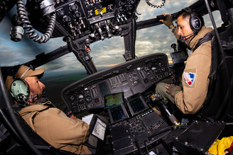 Cockpit Helicopter Pilots