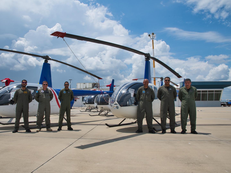 Military Pilots at USATS