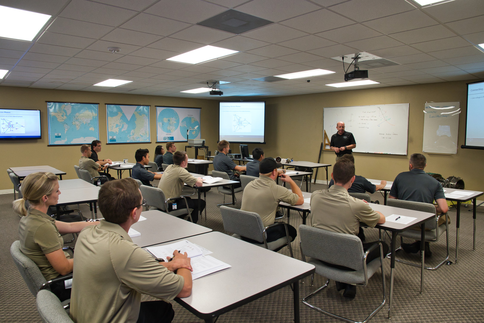 Training Classrooms at USATS