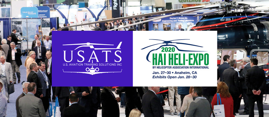 USATS Exhibiting at HAI Heli-Expo 2020