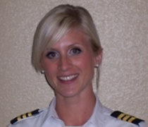 Stine Fredheim Chief Flight Instructor
