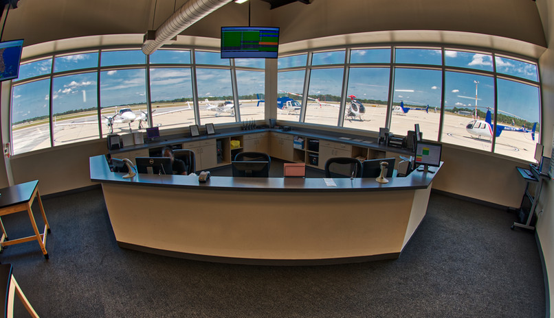 Reception Area at USATS