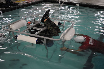 Underwater Egress Training Course Features