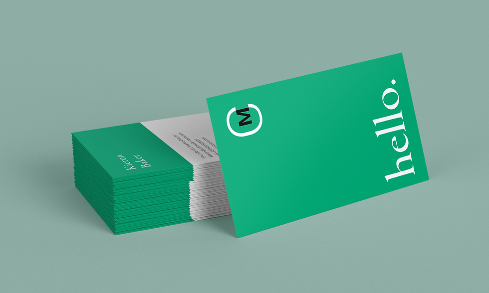 Colossals Business Cards
