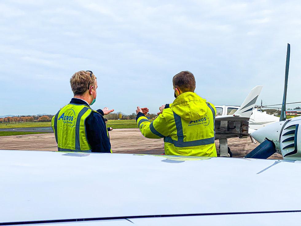 Flight Instructors at Aeros