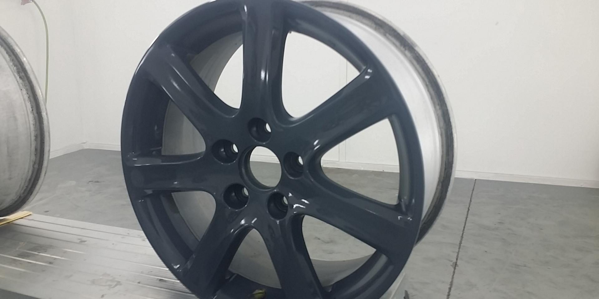 Wheel Painted