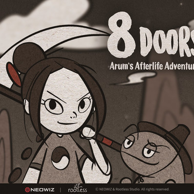 Afterlife-Exploring Metroidvania 8Doors Launches on April 8th