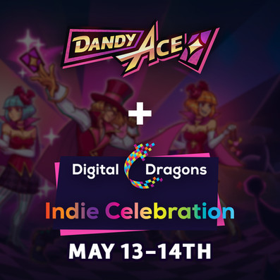 Dandy Ace Joins the Digital Dragons Indie Celebration on Steam