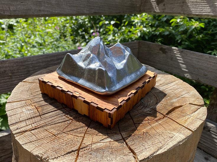 Petit Grand v.1 Aluminum  Sculpture of the Grand Teton