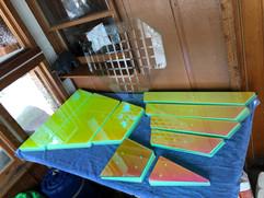 Double Diamond cut panels