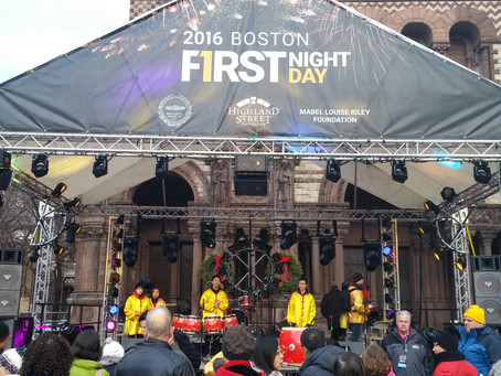 See us performing (pre-recorded) in First Night Boston on December 31, 2020!