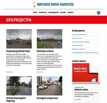 Nieuwe website Dorpsvisie online